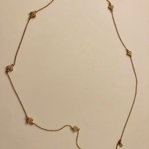 kate spade sweater necklace